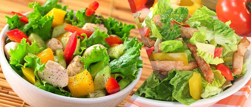 ¿Cómo deben ser las ensaladas para adelgazar?